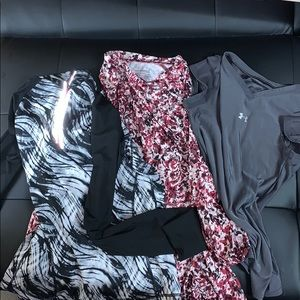 Bundle of 3 workout tops